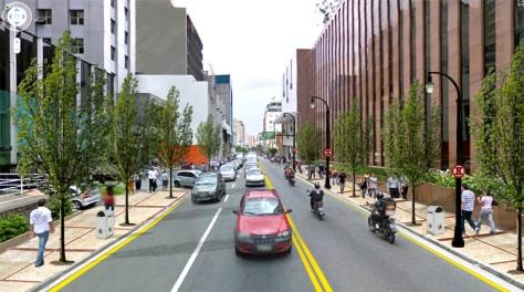 Rua Augusta Depois