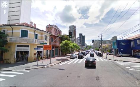 Rua dos Pinheiros Antes
